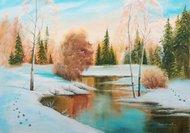 Jezioro zimą II