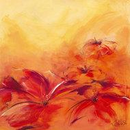 Czerwone kwiaty  III