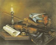 Still Life And VIolin