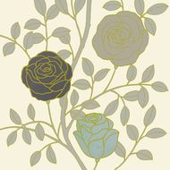 Ogród różany I