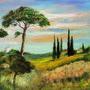 Pastelowy krajobraz II