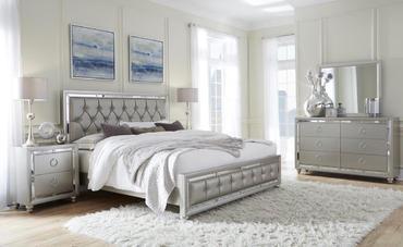 mieszkanie urządzone w stylu glamour
