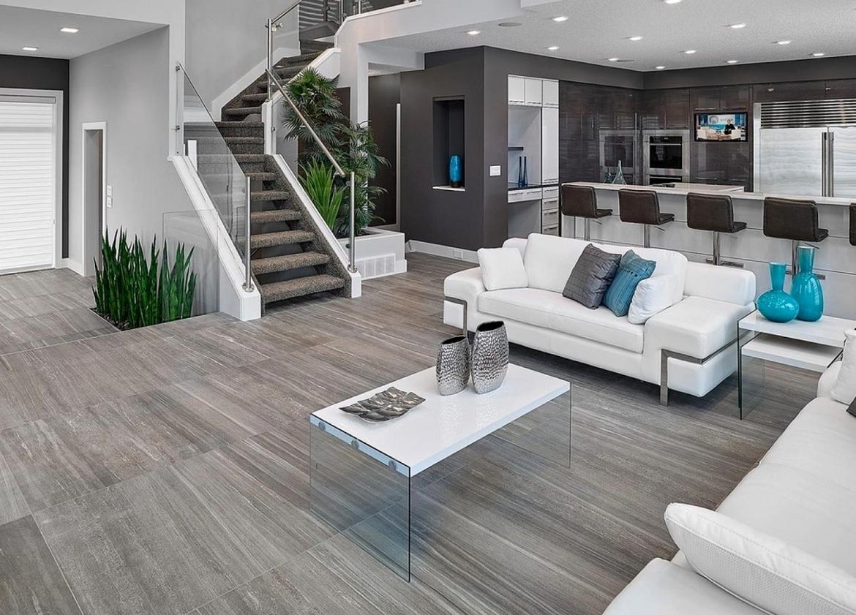 nowoczesne wnętrze w domu