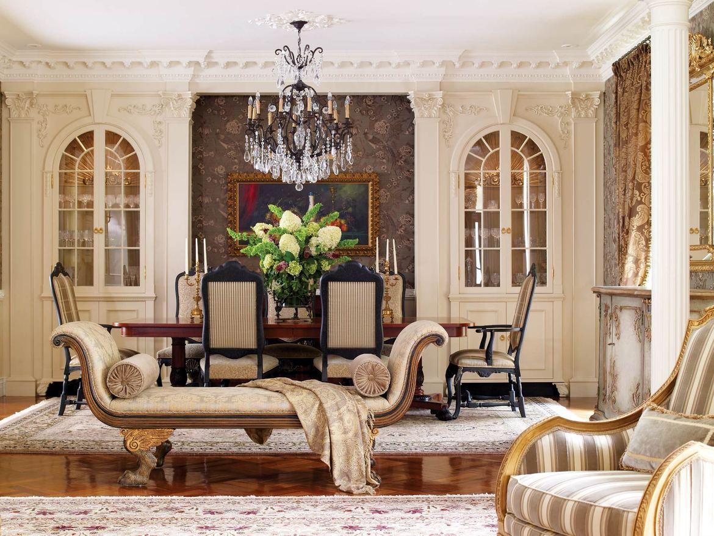 salon w stylu barokowym