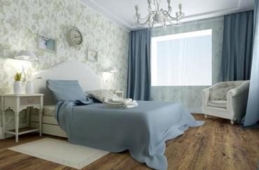 mieszkanie urządzone w stylu prowansalskim