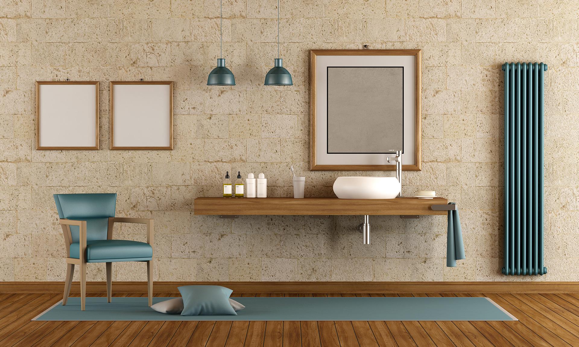 ramy z drewna do łazienki