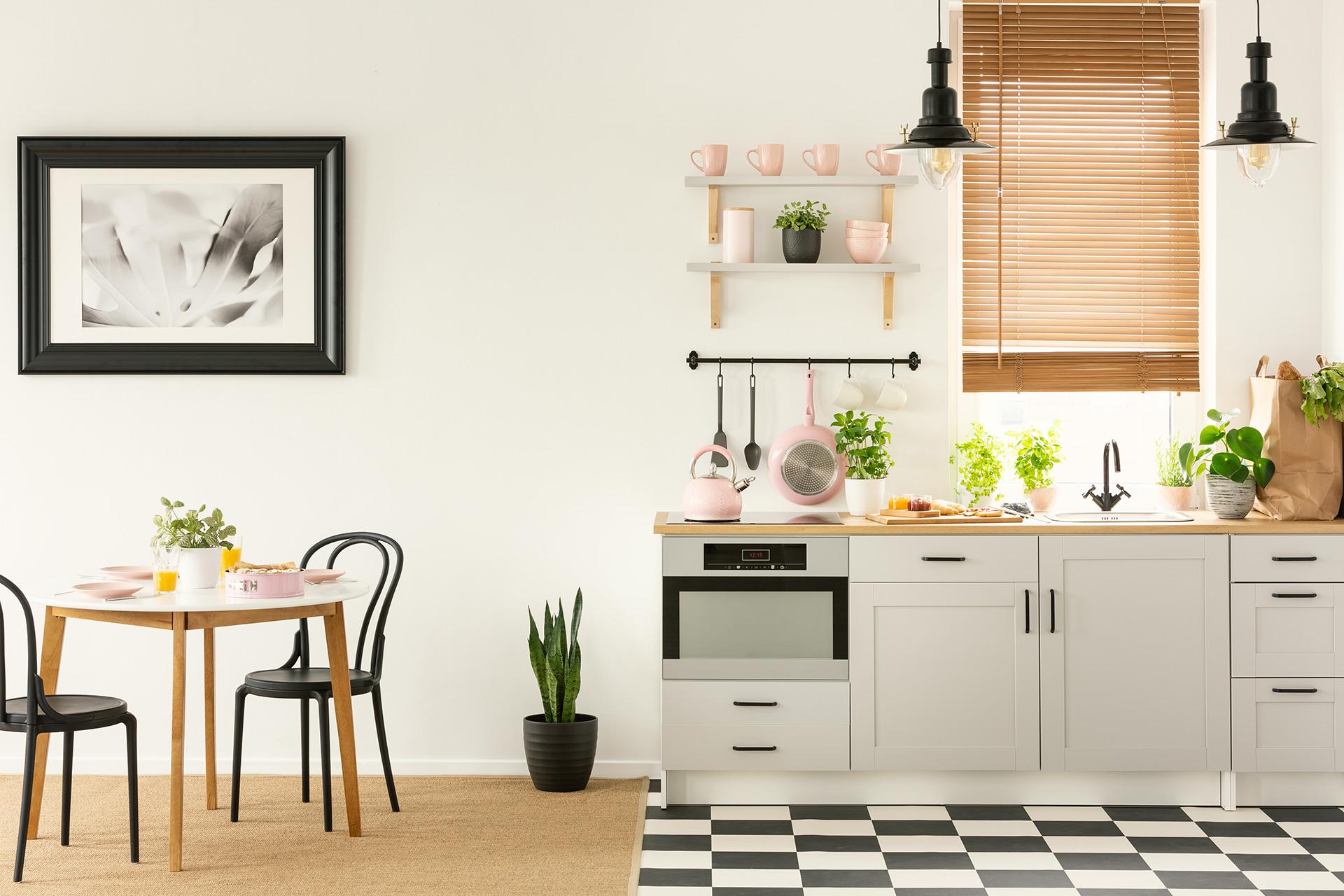nowoczesny obraz w ramie do kuchni