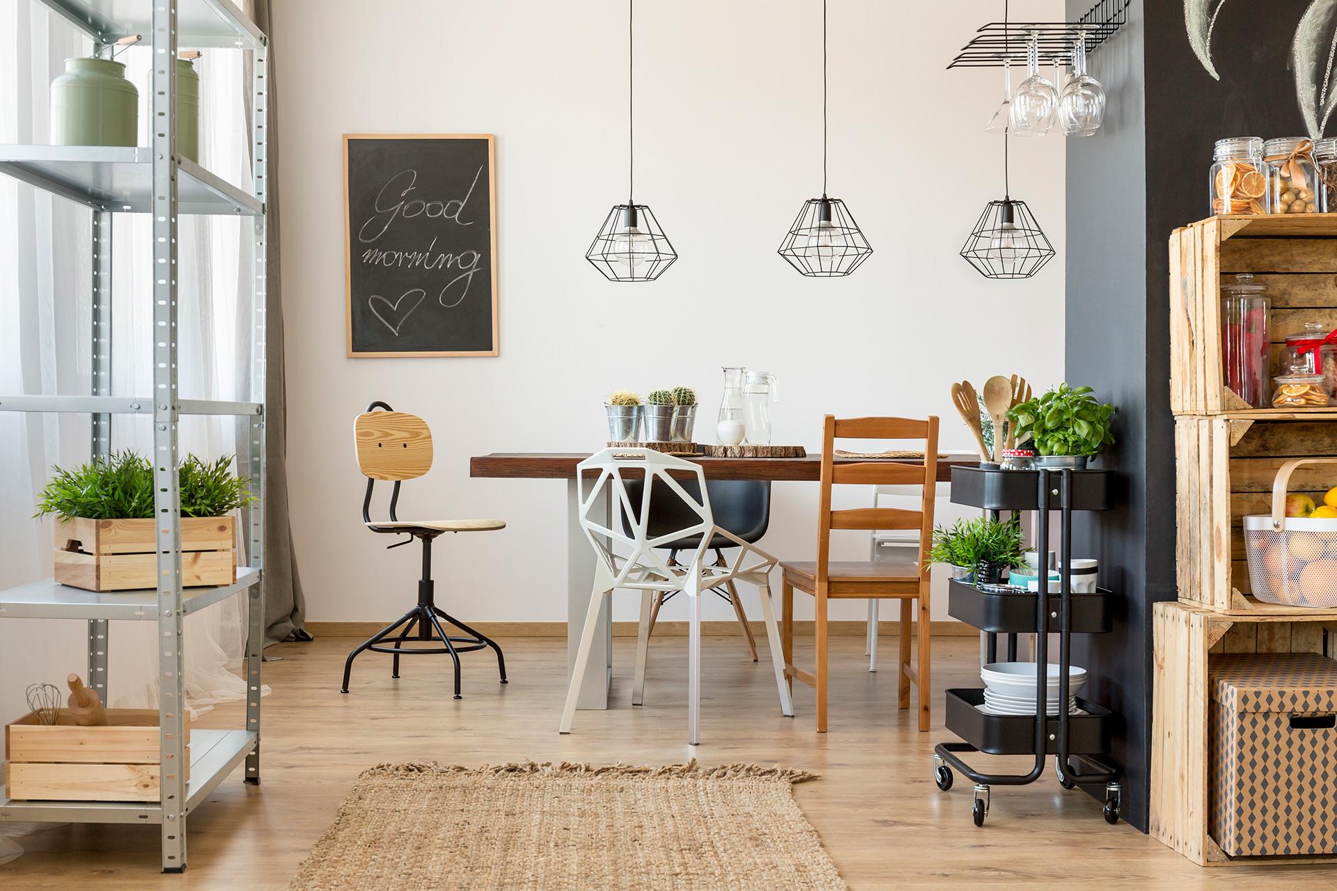 tablica kredowa w ramie do kuchni