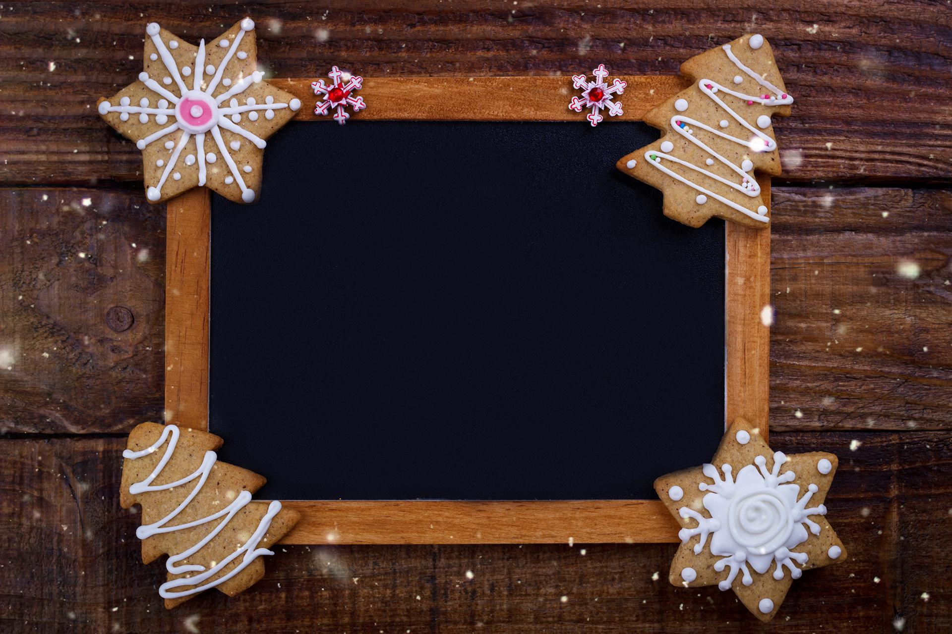 świąteczna ramka DIY