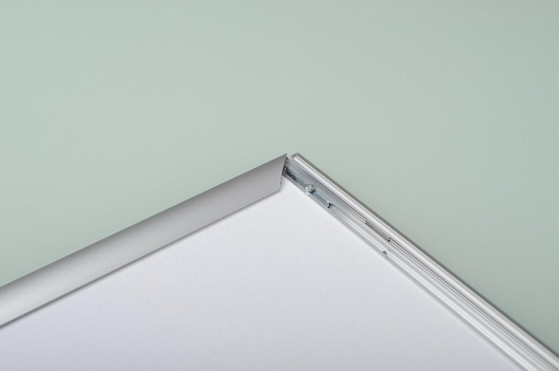 Ramka srebrne aluminium na zatrzask OWZ 02