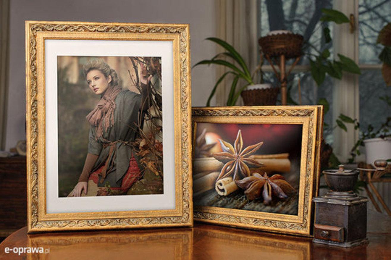 Rama złota z plecionym ornamentem Ceres AB
