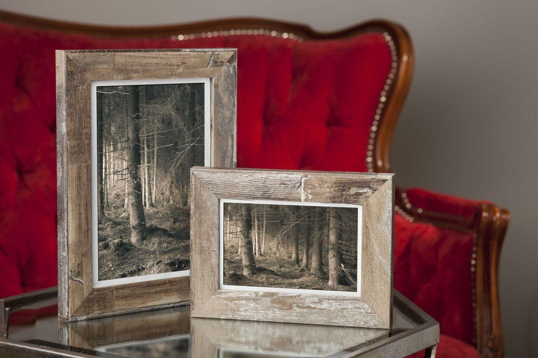 Ramka na zdjęcia i obrazy brązowobeżowa matowa Bergen AG