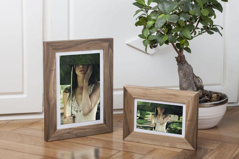 Ramka na zdjęcia i obrazy cappucino matowa Bergen AA