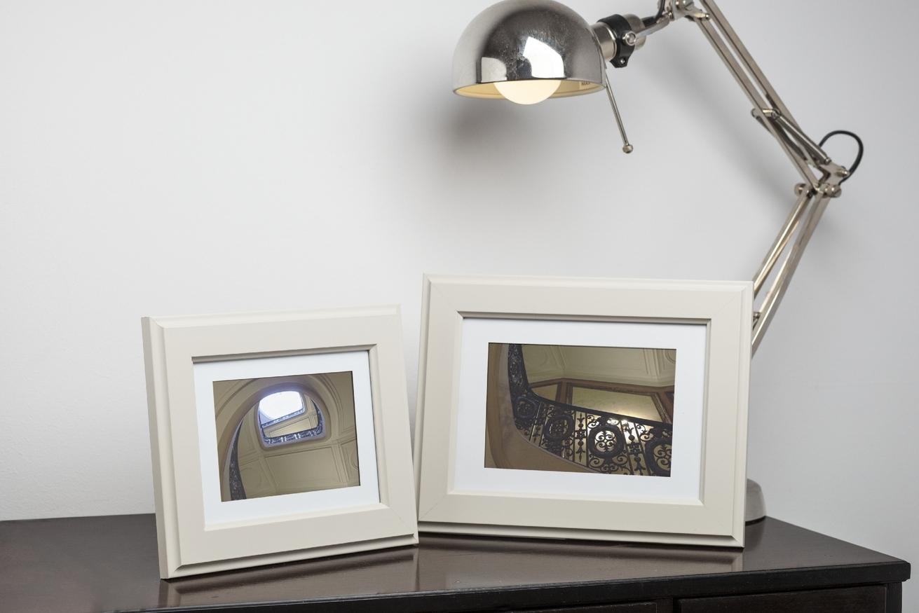 Ramka na zdjęcia i obrazy cafe latte z zagłębionymi krawędziami Malmo AD