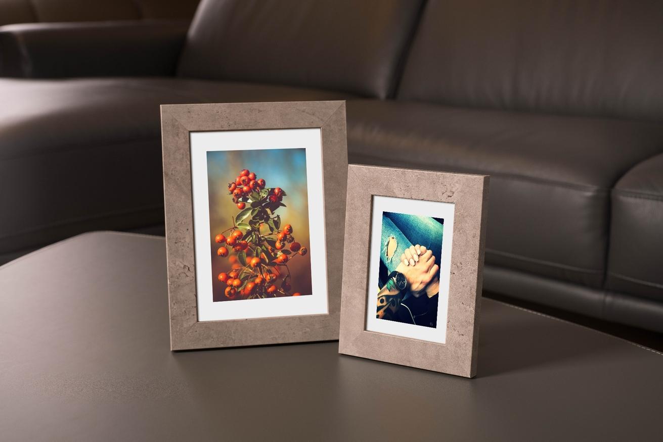 Ramka na zdjęcia i obrazy popielata matowa Yellowstone AB