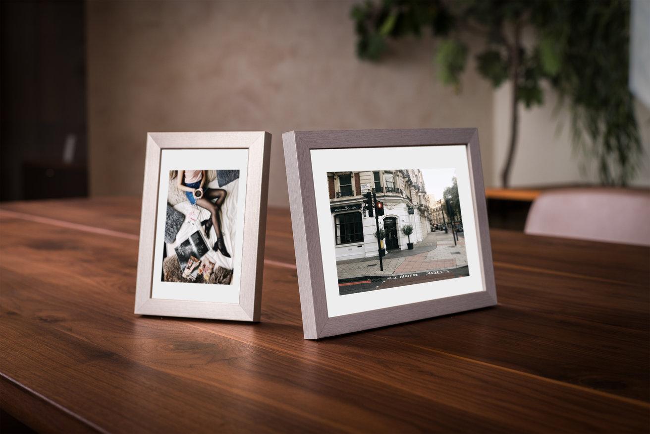 Ramka na zdjęcia i obrazy metalik grafitowy Sanremo AB