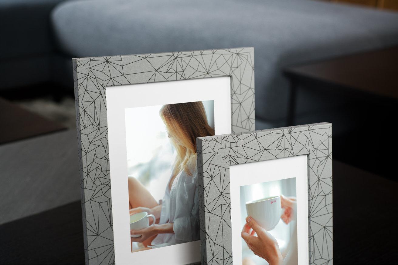 Ramka na zdjęcia i obrazy w geometryczne wzory Diamond AB