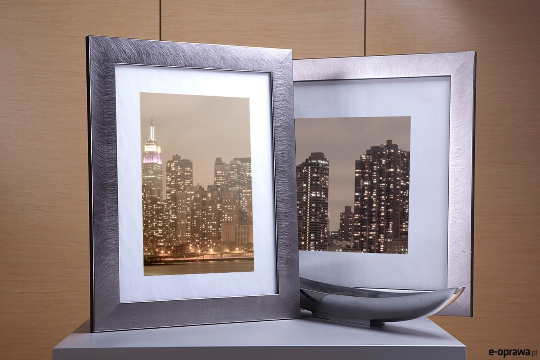 Rama do obrazów i zdjęć metaliczna szczotkowana  Panama AC