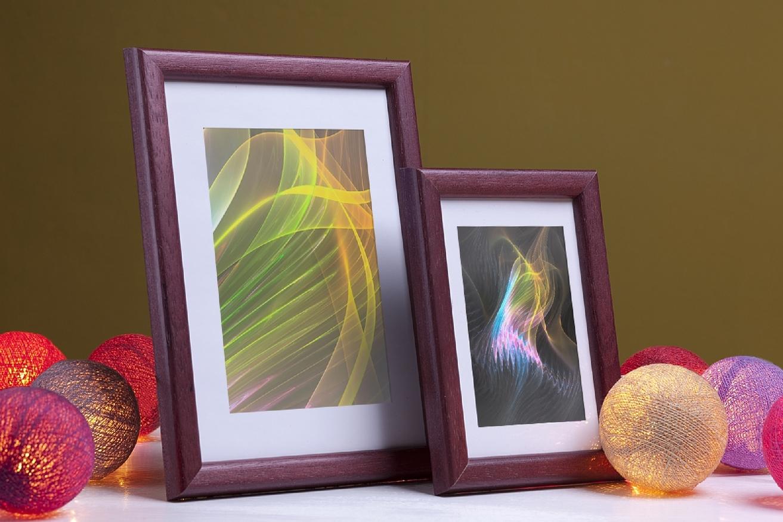 Rama do obrazów i zdjęć bordowo-śliwkowa Darwin AD