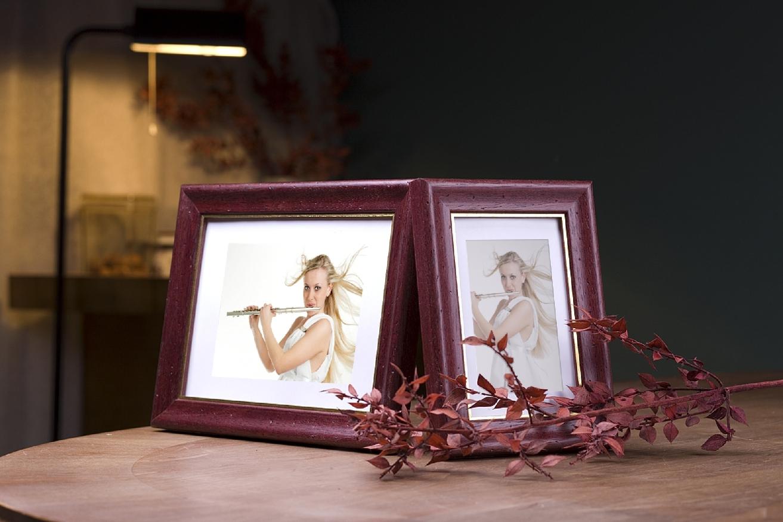 Rama do obrazów i zdjęć burgundowa  Alta AB