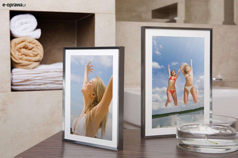 Rama do obrazów i zdjęć stalowa połyskowa ALU 217-006