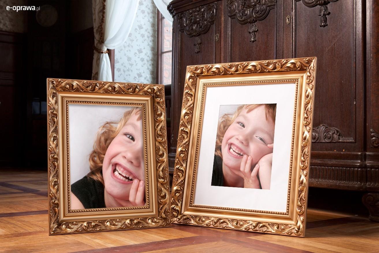 Rama do obrazów i zdjęć pozłacana ornamentowa Nadia AB