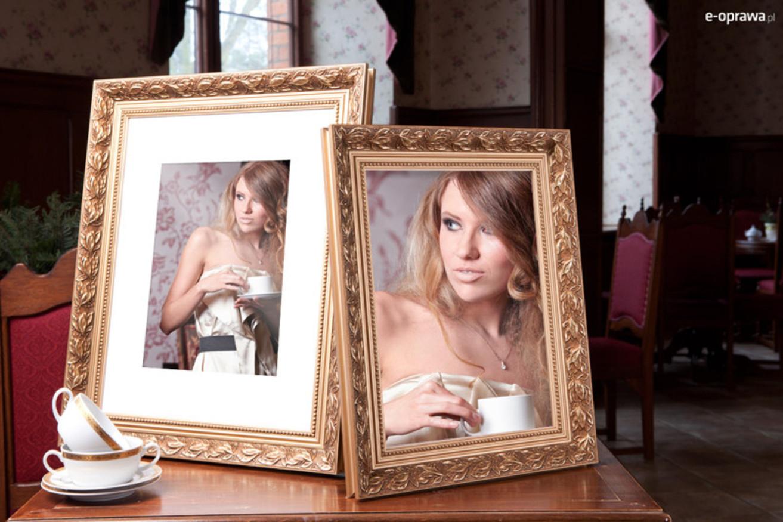 Rama do obrazów i zdjęć z kwiecistym wzorem Anadia AB