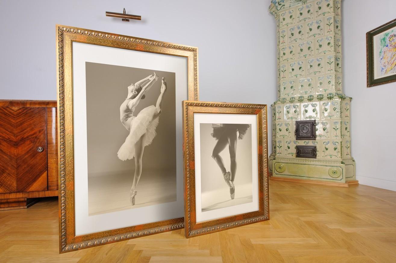 Rama do obrazów i zdjęć ceglastozielona ornamentowa Odys AA