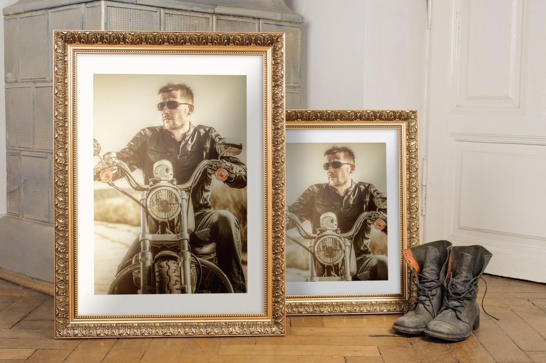 Rama do obrazów i zdjęć w żłobione listki  Kronos AA