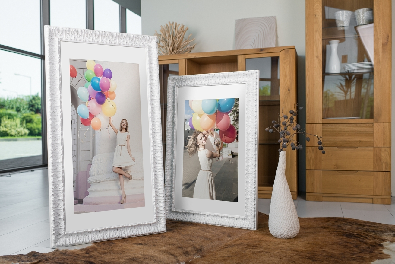Rama do obrazów i zdjęć pomarszczona ornamentowa Hannah AA