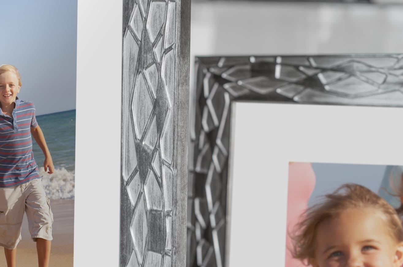 Rama do obrazów i zdjęć grafitowa z rozgałęzieniami Crystal AB