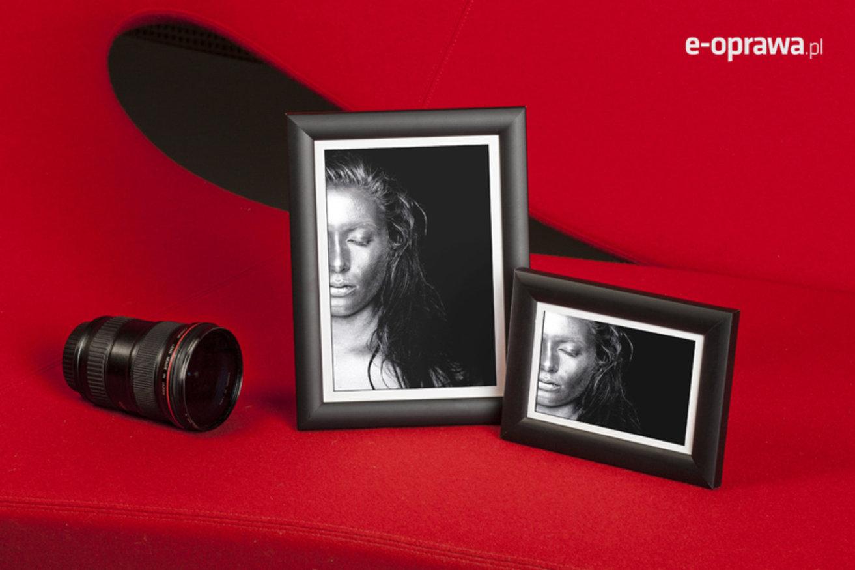 Rama do obrazów i zdjęć czarna zmatowiona  Pedro AB