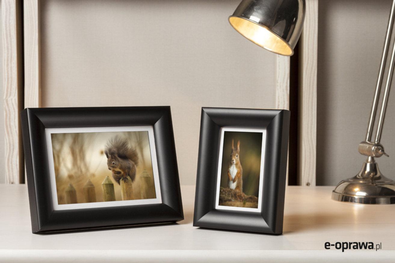 Rama do obrazów i zdjęć matowa zaokrąglona Melar AA