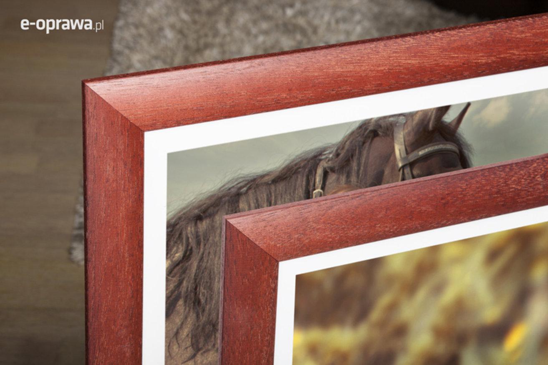 Rama do obrazów i zdjęć mahoniowa Alamos AA