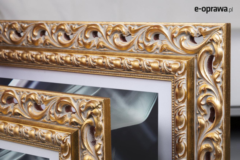 Rama do obrazów i zdjęć zdobiona złota Paris AB