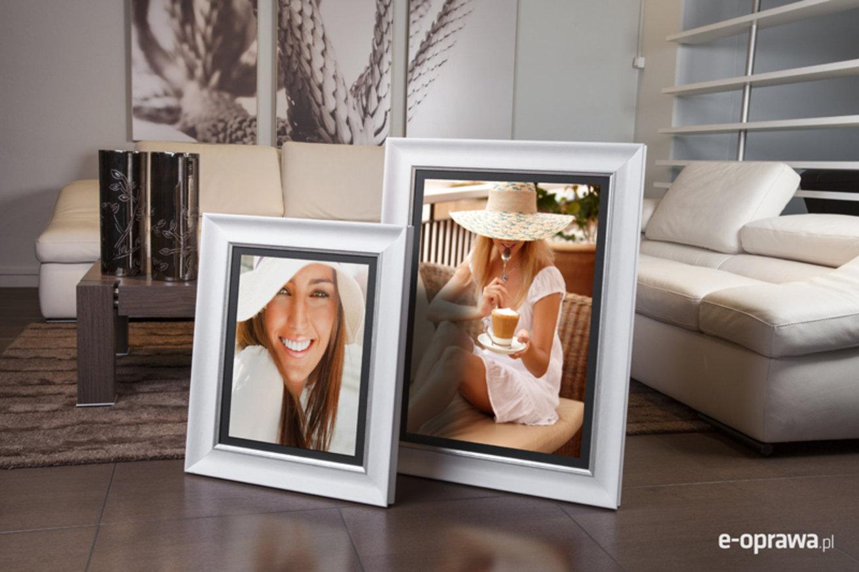 Rama do obrazów i zdjęć zgaszona biel Managua AD