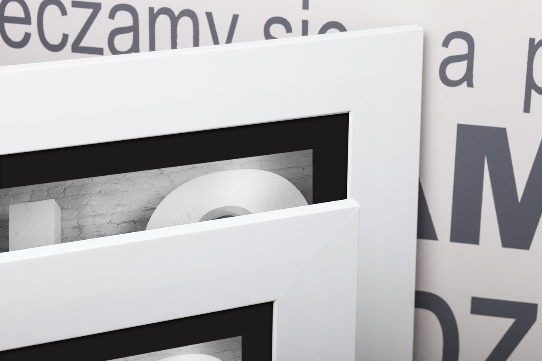 Rama do obrazów i zdjęć biała matowa Hawana AP