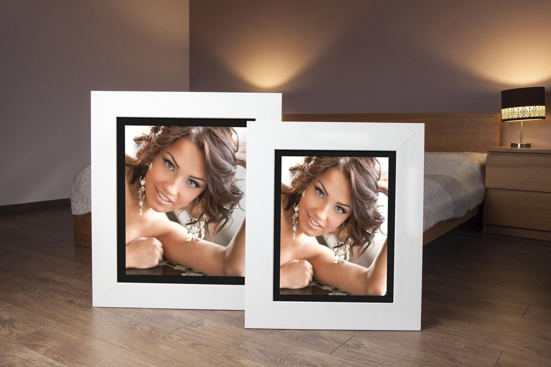 Rama do obrazów i zdjęć biała połyskowa Hawana AR