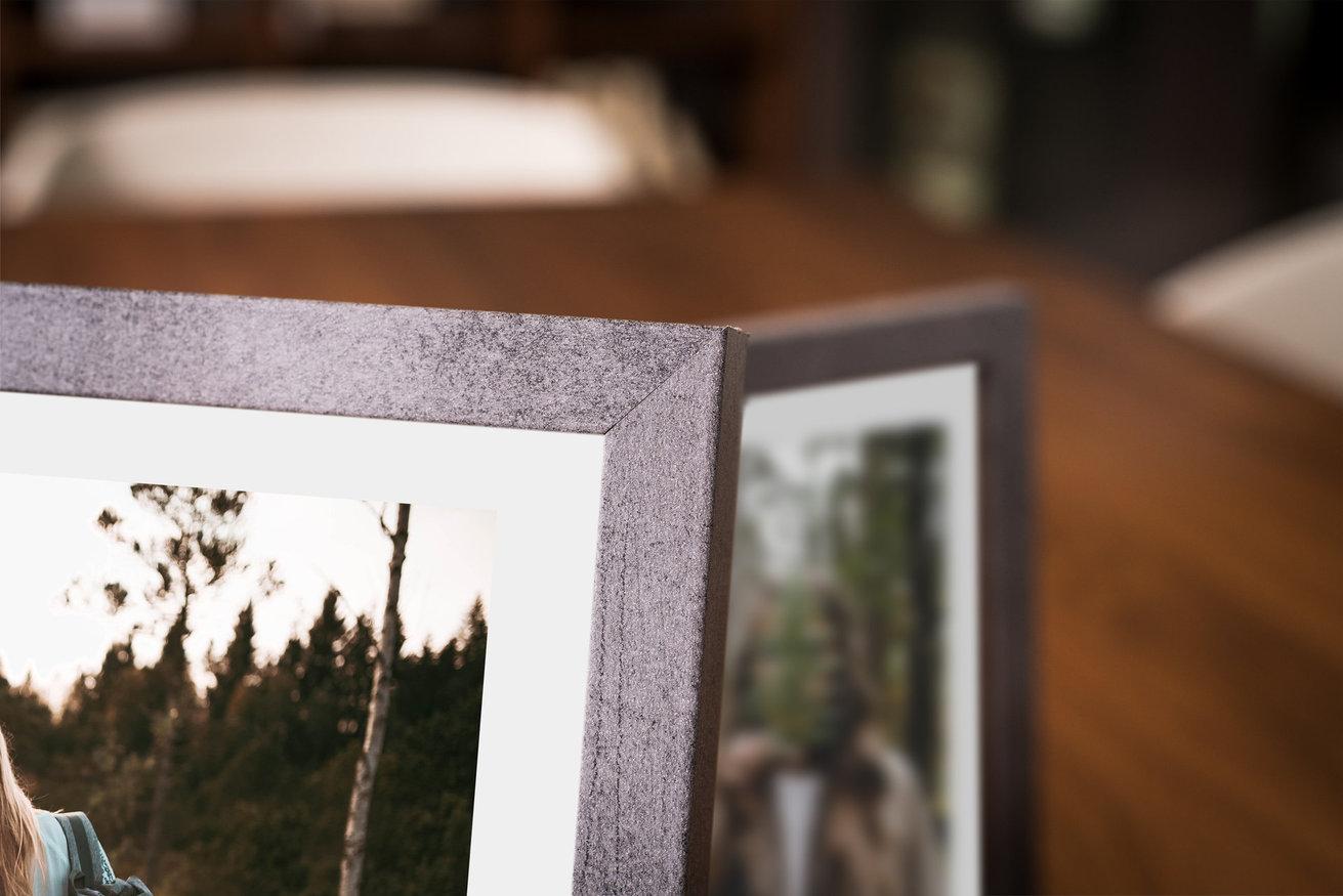 Rama do obrazów i zdjęć poszarzała betonowa  Oslo BO