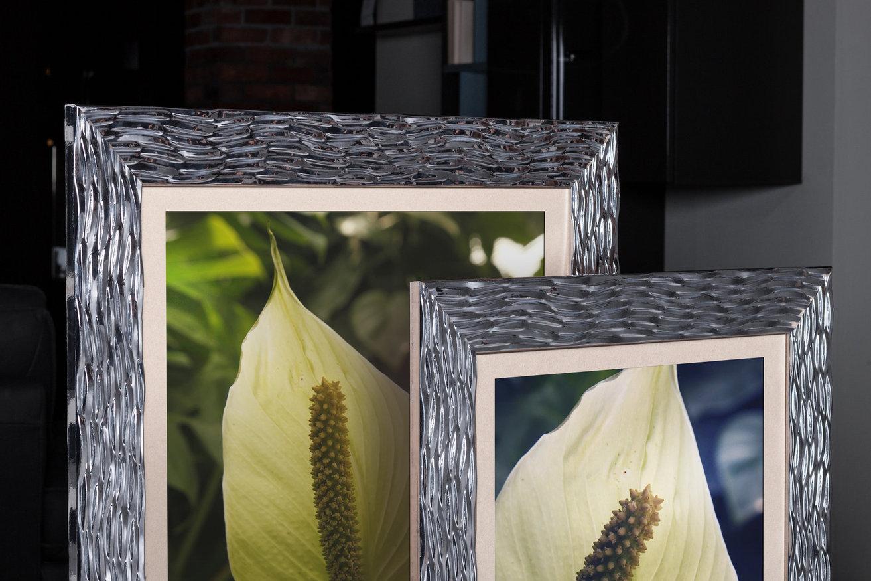 Rama do obrazów i zdjęć chromowana połyskowa Iga AA
