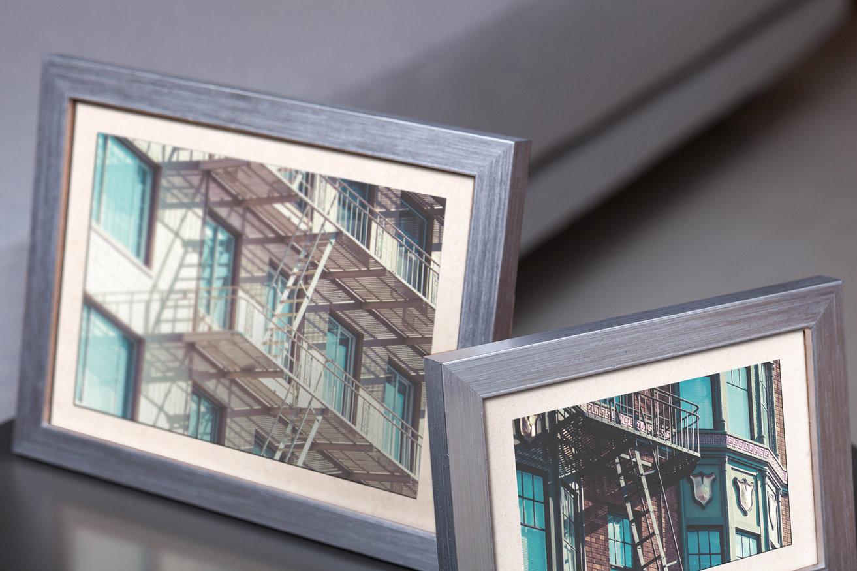 Rama do obrazów i zdjęć srebrna nowoczesna Paula AA