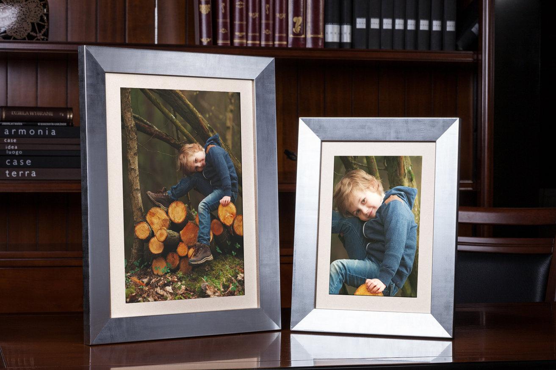 Rama do obrazów i zdjęć stalowa spłaszczona  Dikson AA