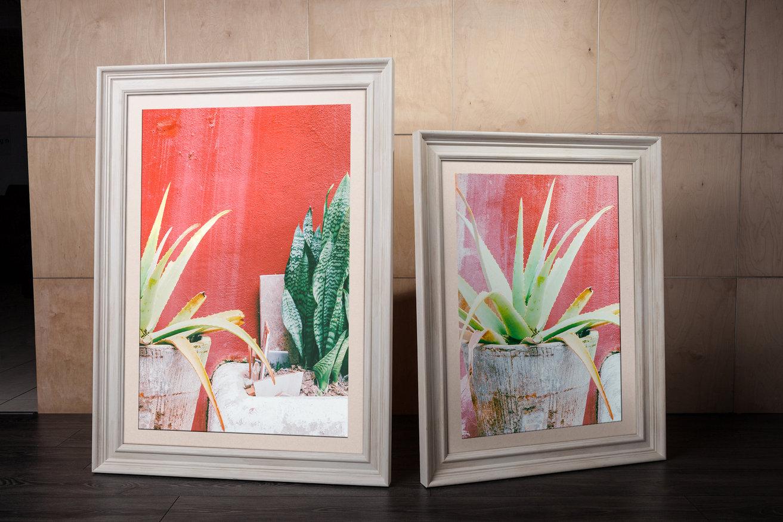 Rama do obrazów i zdjęć w kolorze surowego drewna Cejlon AA