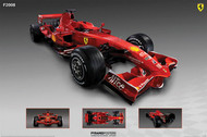 Ferrari (F2008 Race Car)