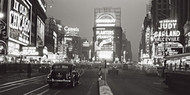 Times Square at Night, NYC 1938