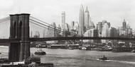 Manhattan, Brooklyn Bridge 1937r.