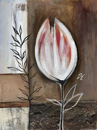 Tulip in brown IV