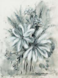 Kwiaty polne w czerni i bieli II