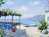 Kawiarnia na wybrzeżu