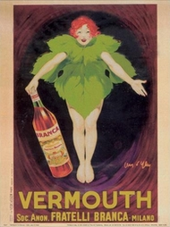 Vermouth F.lli Branca 1922